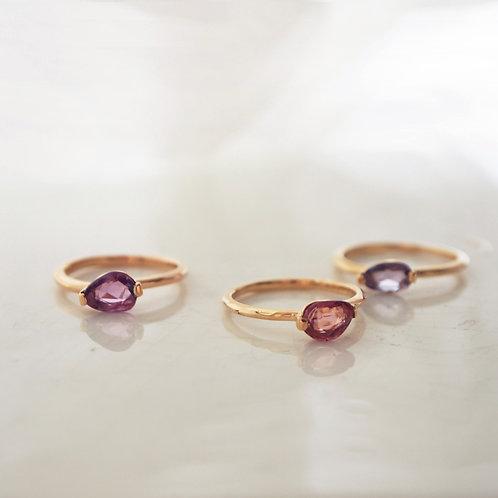 Multi-color Sapphire Ring