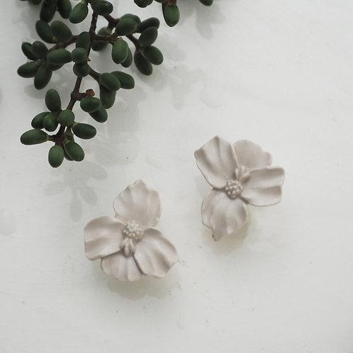 White porcelain Orchid