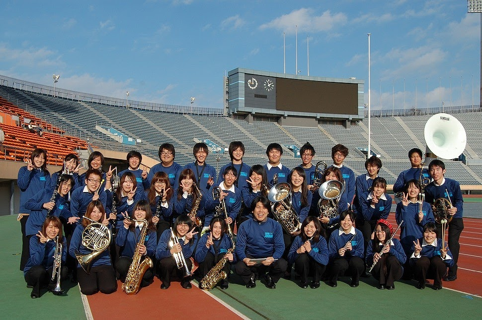2010年12月13日(神宮外苑ロードレース依頼演奏)
