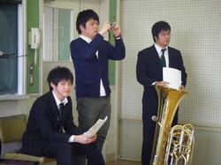2011年2月27日(団内ソロコンサート)