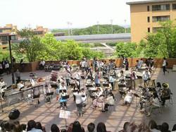 2011年5月18日(新入生歓迎演奏inキャンパスプラザ)