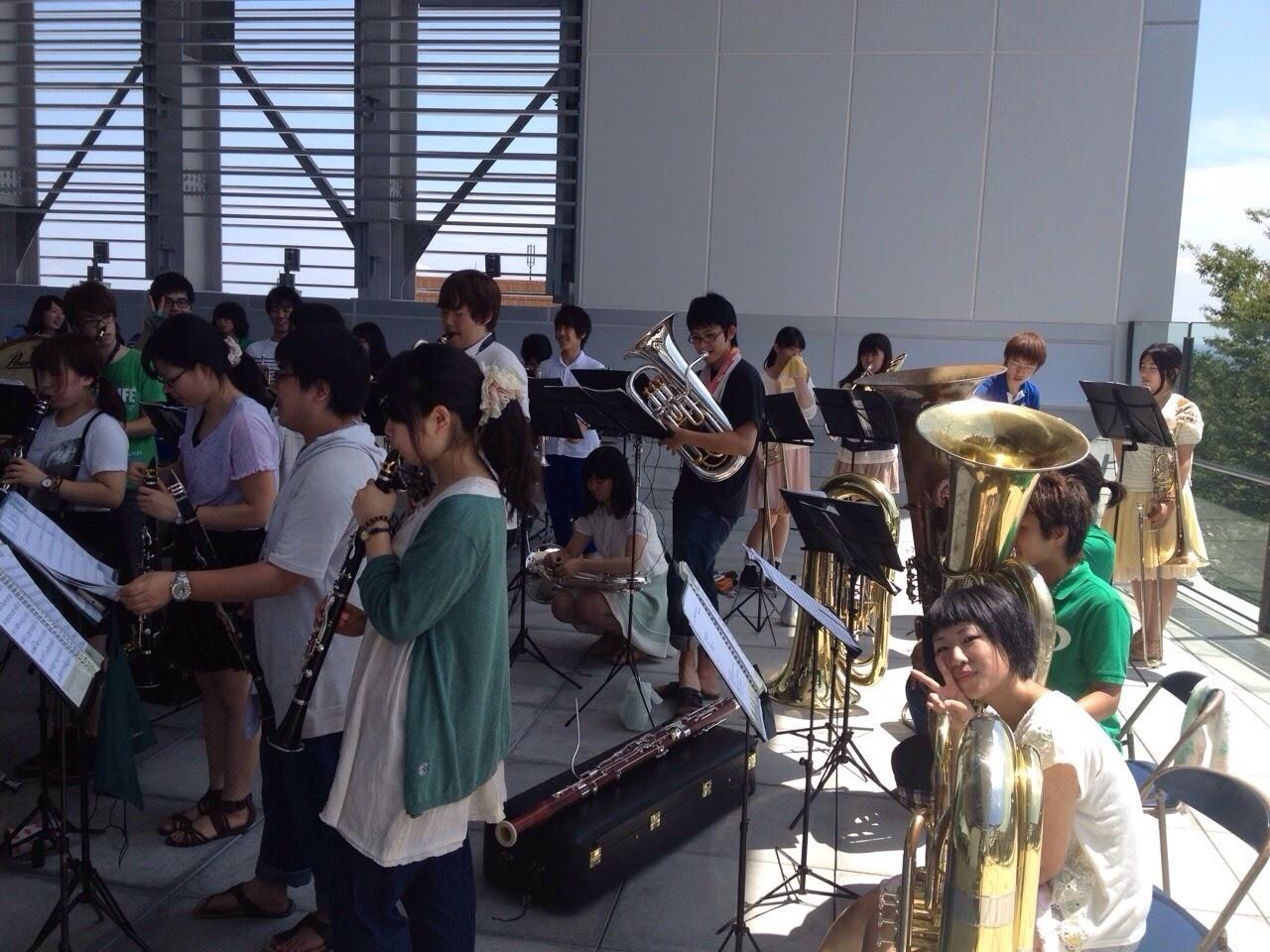 2013年7月28日(オープンキャンパス依頼演奏)