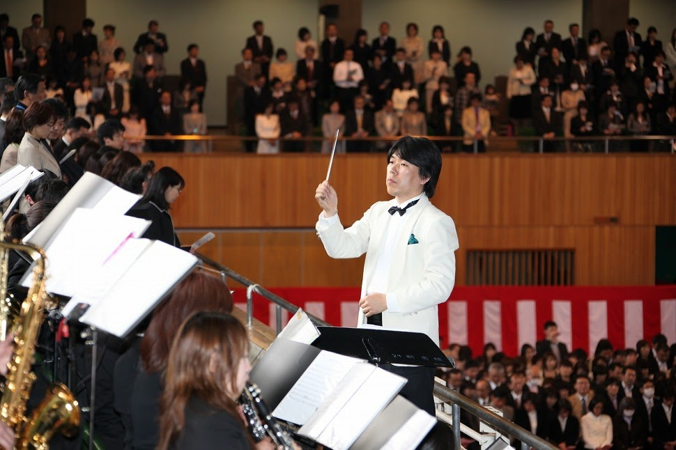 2011年4月30日(入学式式典演奏)
