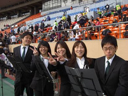 2009年12月13日(神宮外苑ロードレース依頼演奏)