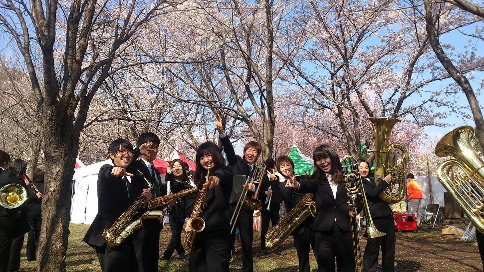 2014年4月6日(さくらまつり依頼演奏)