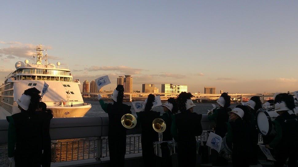 2013年5月7日(晴海臨海客船ターミナル出航式演奏依頼)