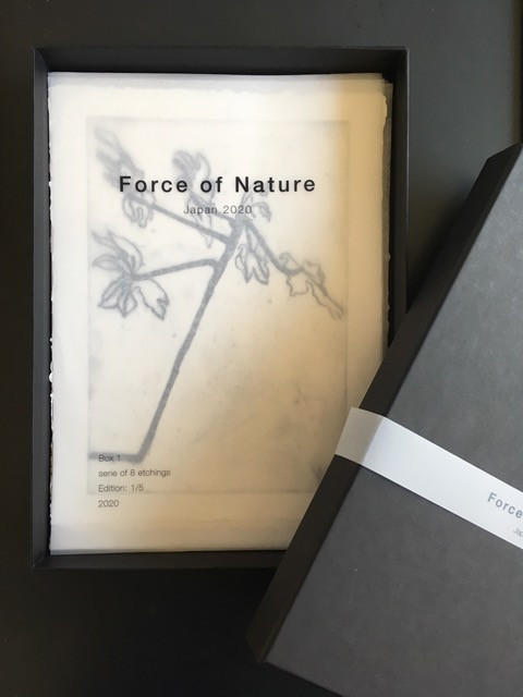 2020 - FORCE OF NATURE - Box 2 - box of 8 etchings