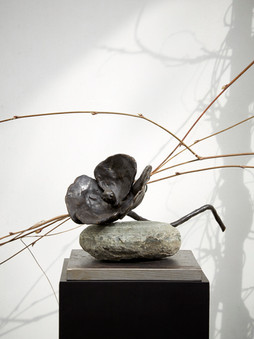 2011 - Eastern Papaver - bronze/stone/steel