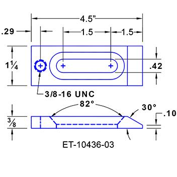 #ET-10436-03 Aerospace Clamps