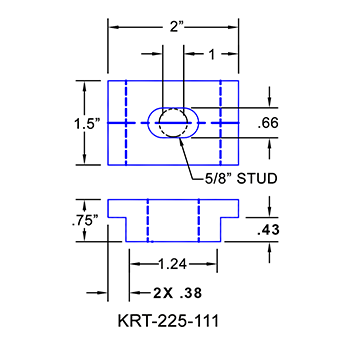 #KRT-225-111 Kurt Vise Clamps