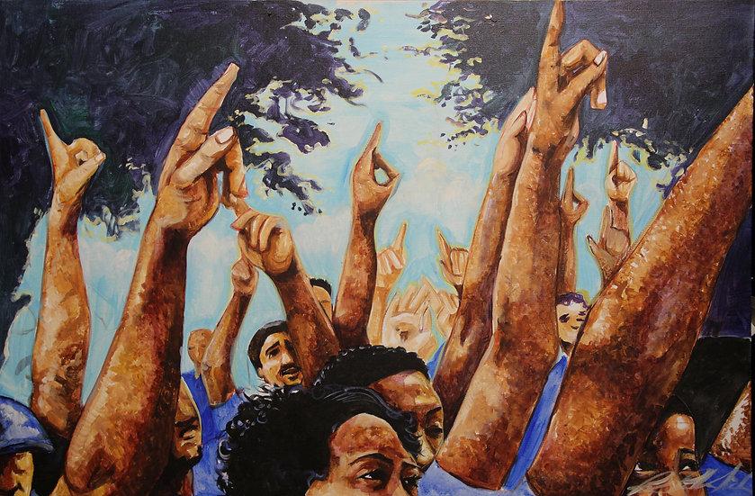 Men As Trees - Original Painting