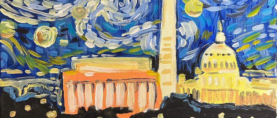&Paint -Starry DC