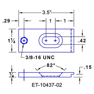 #ET-10437-02 Aeropsace Clamps