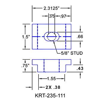 #KRT-235-111 Kurt Vise Clamps
