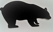 Large Walking Black Bear