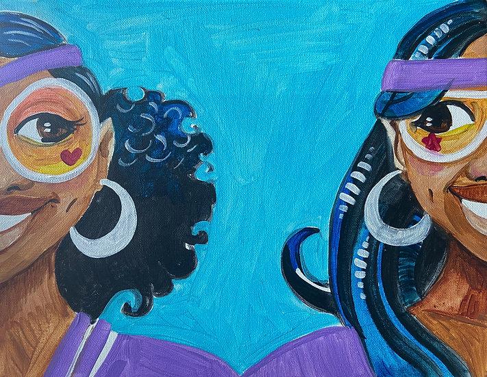 Saniya &Paint: 2 of a Kind