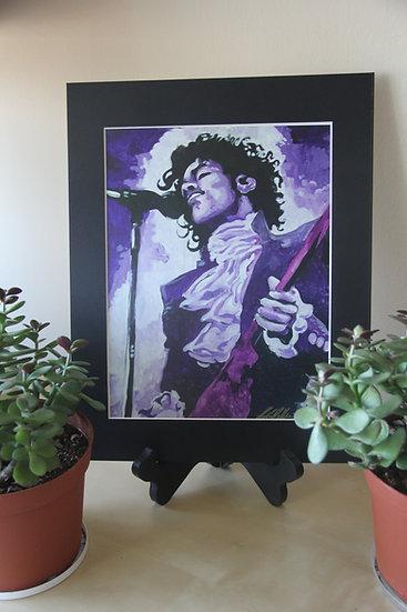 "Prince in Purple - 11""x 14"""