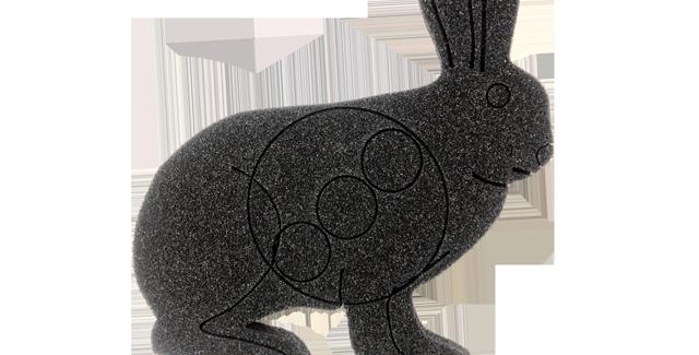 U-PAINT Rabbit set of 5