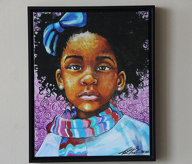 February - Canvas Print