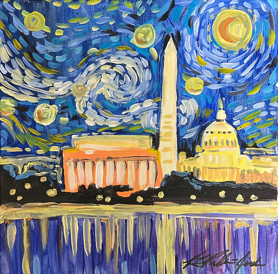 """&Paint """"Starry DC"""" Ticket May 23 