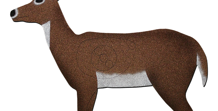 D5-ANT Standing Deer with antlers