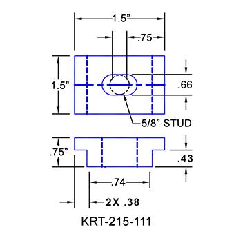 #KRT-215-111 Kurt Vise Clamps