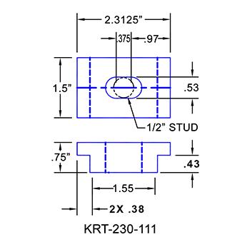 #KRT-230-111 Kurt Vise Clamps
