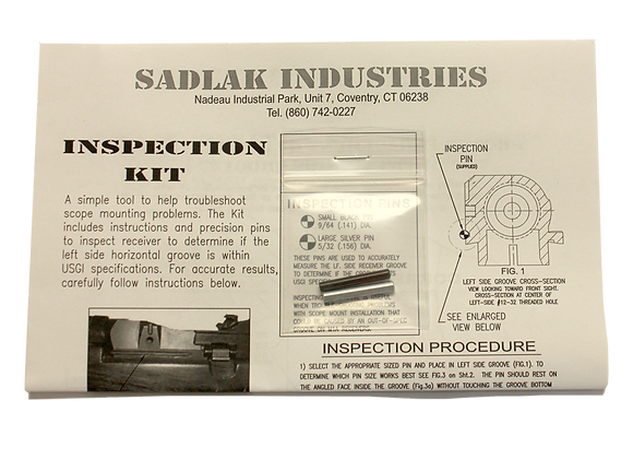 Receiver Inspection Kit