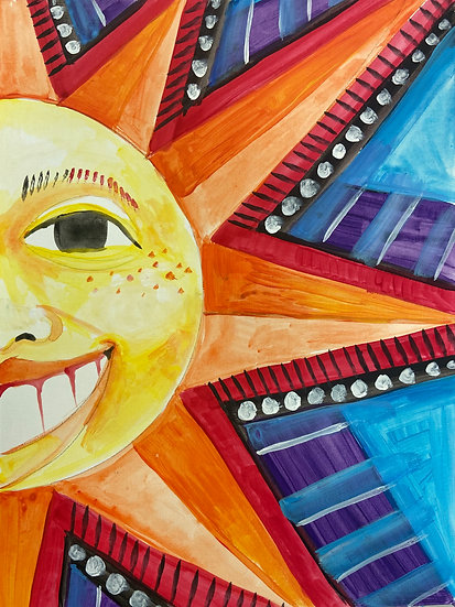 """""""Light of the Sun"""" &Paint Party"""