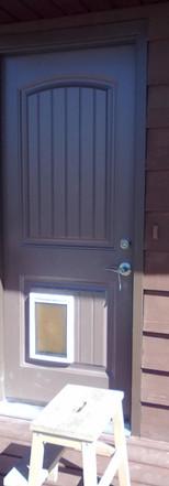 Doggy Door Aussie Mikes Contractors Calgary
