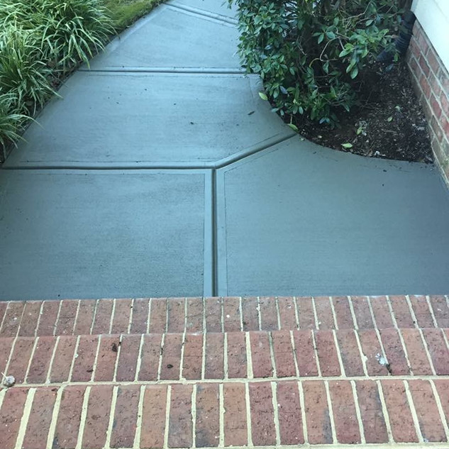 Concrete Sidewalk | AMC Contracting