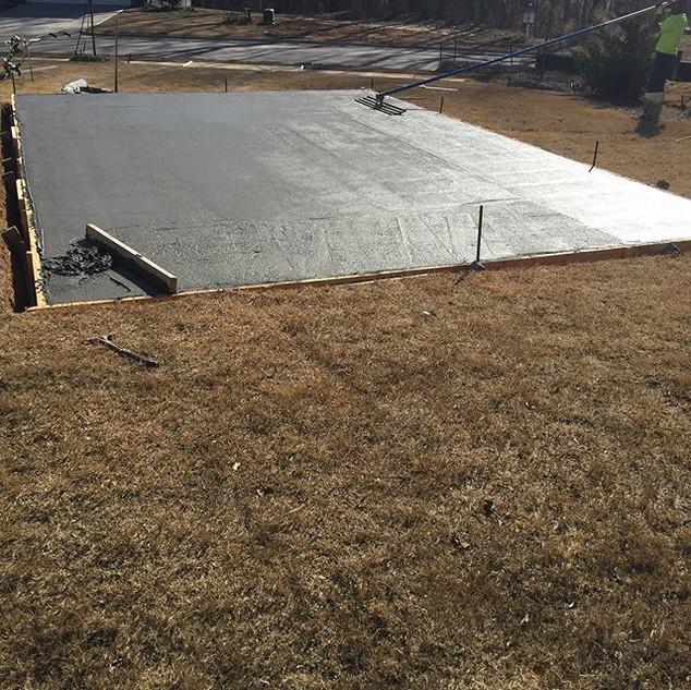 Concrete AMC Contracting | Concrete Company Cary NC