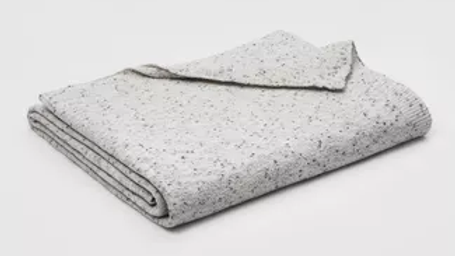 Threshold Twin Marled Chenille Blanket