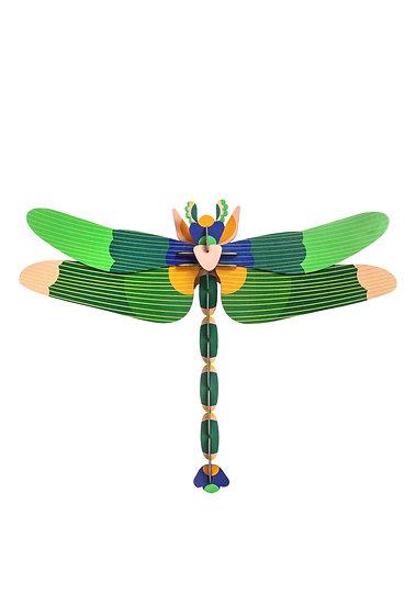 Wanddekoration Giant Dragonfly