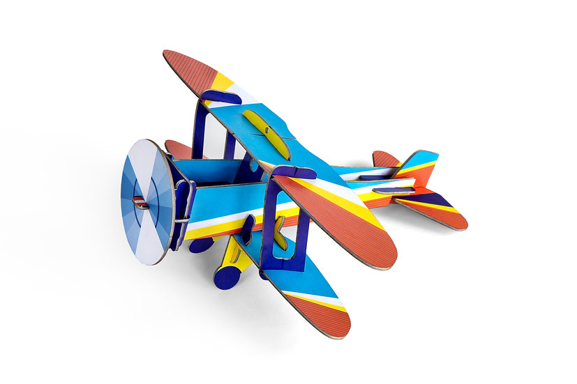 Flugzeugmodell Biplane