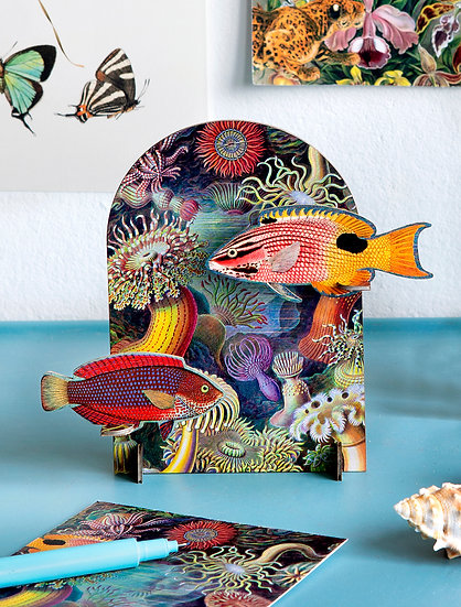 Pop Out Card Fish