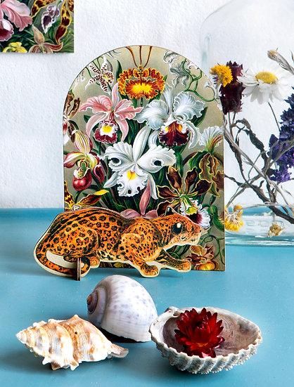 Pop Out Card Leopard