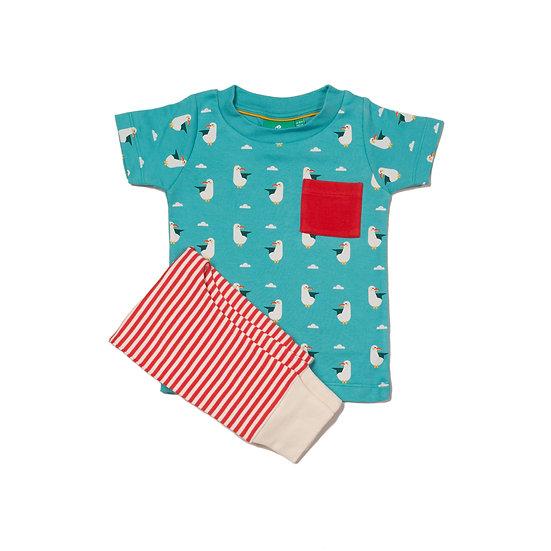 Summer Seagull T-Shirt & Jogger Playset