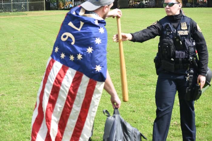 Flag assaulter 2 Oregon