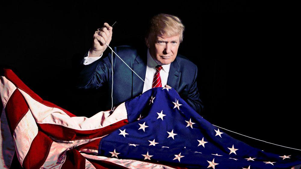 trump-sew flag