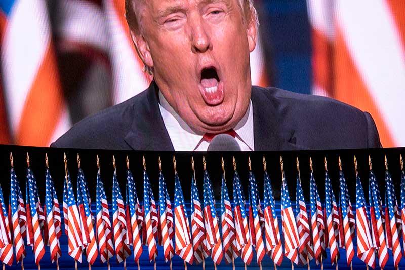 Trump Acceptance Roar 2016