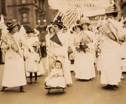 Suffrage Parade May 6 1912 New York City