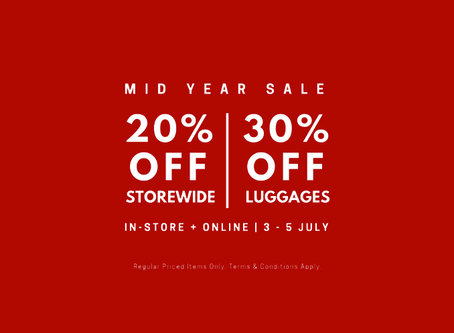 Benefits: The Planet Traveller's Mid Year Sale is Here!