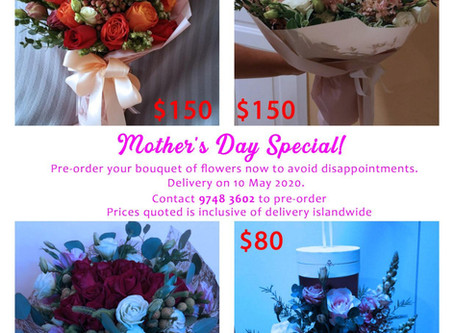 PROMO: Shout your love this Mother's Day with beautiful flowers