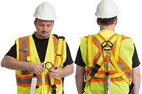working at heights fall arrest