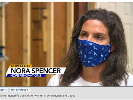 ABC11 / WTVD spreads the word about Hope's Training Program!