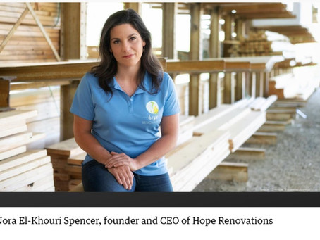Nora Spencer honored by Triangle Business Journal
