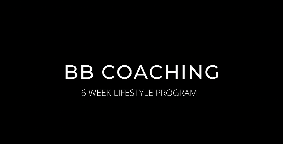 6 WEEK LIFESTYLE COACHING PROGRAM