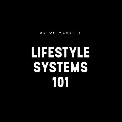 LIFESTYLE SYSTEMS 101