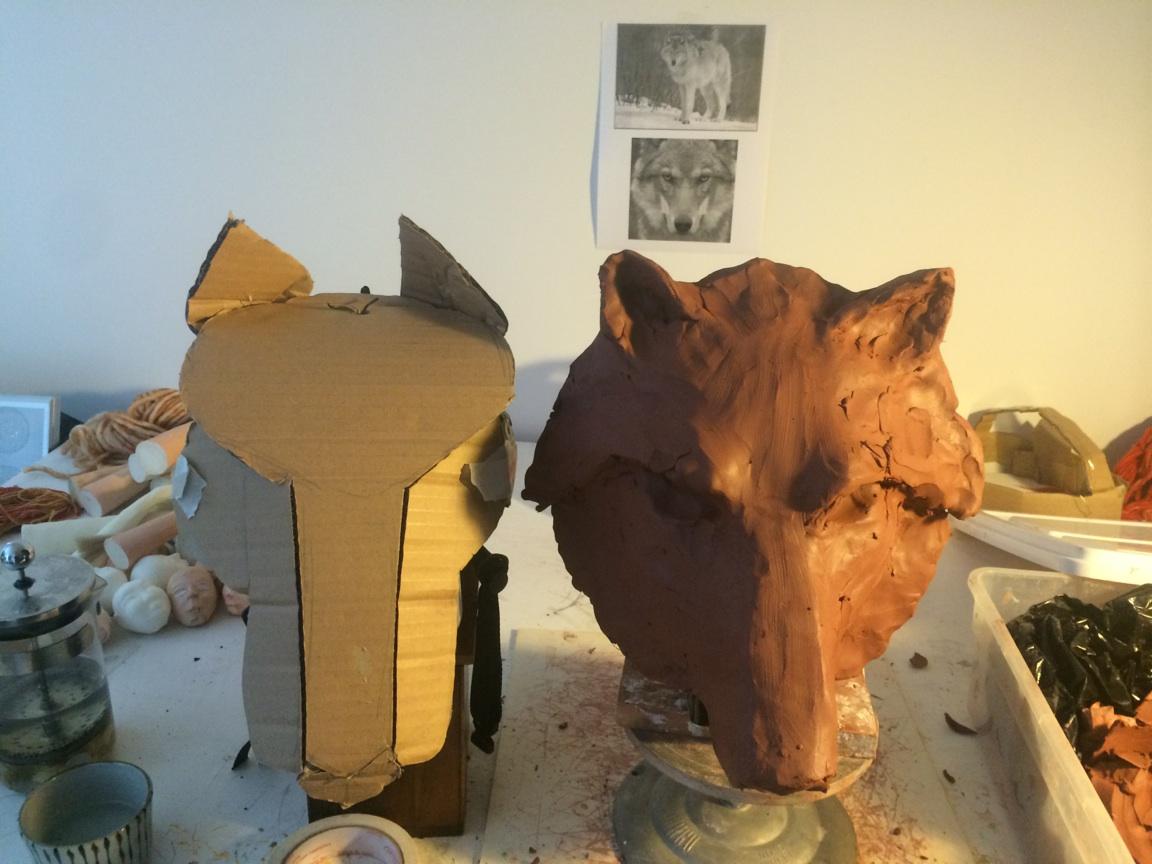 Création du masque de loup